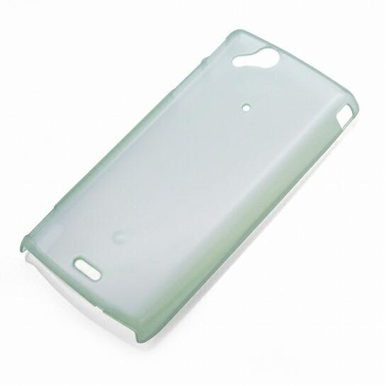 XPERIA arc用ポリカーボネイトケース(ホワイトレインボー) iPod/iPad/mobileアクセサリ RX-XPARC26WR  P12Sep14