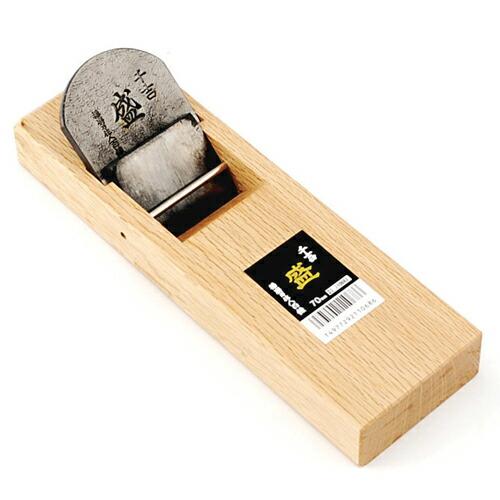 千吉盛・台付鉋・70MM 大工道具:のみ・彫刻刀・鉋:台付鉋(代引き不可) P12Sep14