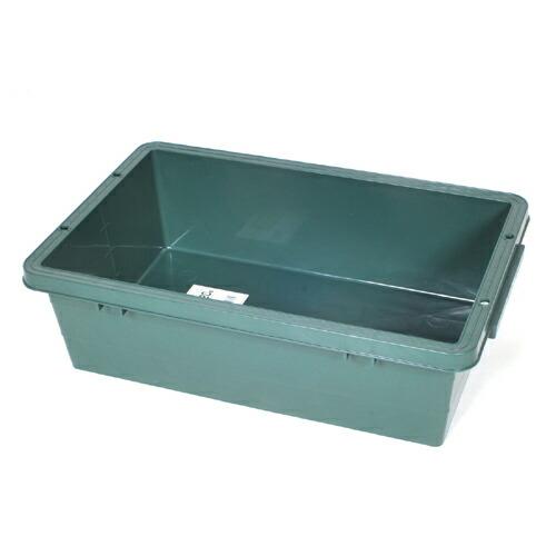 緑長・プラスチック製トロ舟・20L 大工道具:左官鏝:トロ舟他(代引き不可) P12Sep14