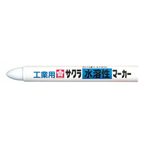 サクラ・工業用水溶性マーカー‐白・WSC#50 大工道具:墨つけ・基準出し:マーカー(代引き不可) P12Sep14