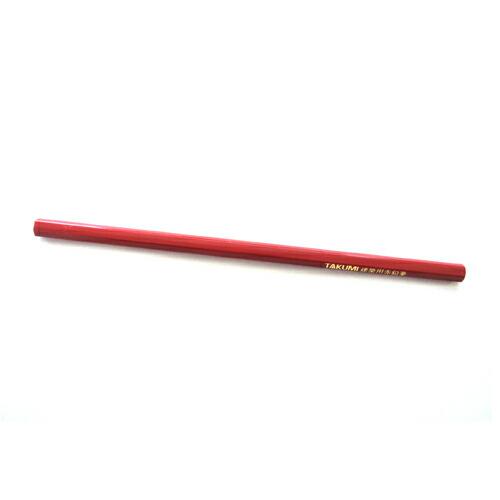 たくみ・建築用鉛筆‐赤・NO.7760 大工道具:墨つけ・基準出し:マーカー(代引き不可) P12Sep14
