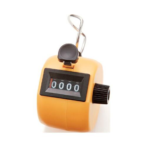 シンワ・数取器C‐イエロー手持型・75089 大工道具:測定具:その他測定具(代引き不可) P12Sep14