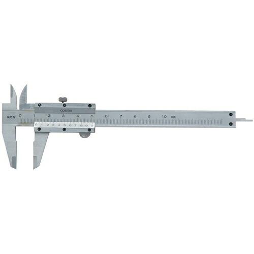 SK11・ノギス・100MM 大工道具:測定具:ノギス(代引き不可) P12Sep14