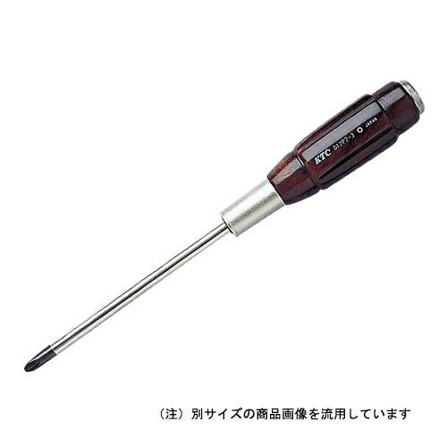 KTC・木柄貫通ドライバ・D12P2-215 作業工具:ドライバー:木柄ドライバー(代引き不可) P12Sep14
