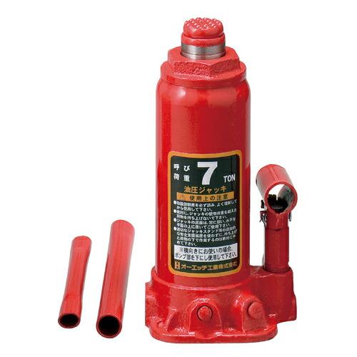 OH・油圧ジャッキ‐7T・OJ-7T 作業工具:スリング・ジャッキ:ジャッキ(代引き不可) P12Sep14