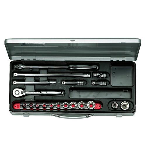 KTC・ソケットレンチセット・TB312X 作業工具:ソケット:ソケットレンチセット(代引き不可) P12Sep14