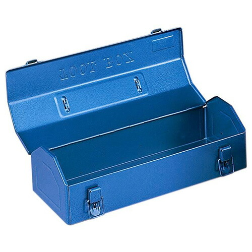リングスター・工具箱‐Y−410・ブルー 作業工具:工具箱:スチール製(代引き不可) P12Sep14