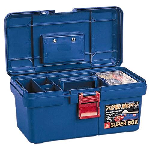 リングスター・PC工具箱・SR-400‐ブルー 作業工具:工具箱:プラスチック製(代引き不可) P12Sep14