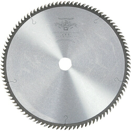 PAS・合板引き用チップソー・255X2.8X100P 先端工具:丸鋸刃・チップソー:木工チップソー(代引き不可) P12Sep14