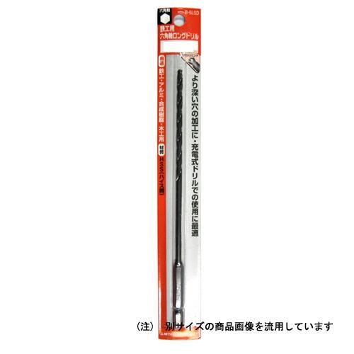 三菱・六角軸ロング鉄工ドリル・5.0X175MM 先端工具:鉄工ドリル:三菱鉄工ドリル六角軸(代引き不可) P12Sep14