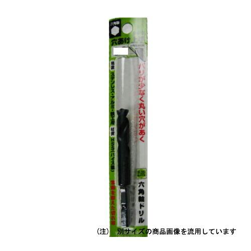 三菱・六角軸穴あけ上手・6.8MM 先端工具:鉄工ドリル:三菱鉄工ドリル穴あけ上手(代引き不可) P12Sep14