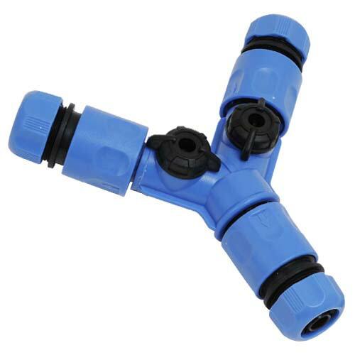 セフティ3・ホース分岐コネクター・SSK-6 園芸機器:散水・ホースリール:散水パーツ(代引き不可) P12Sep14