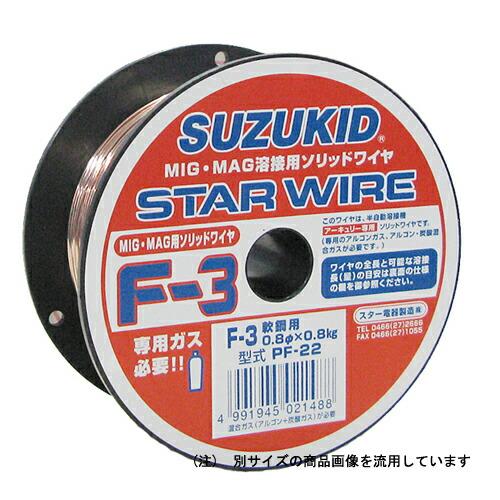 スズキット・スターワイヤ‐ステン用・PF-12‐0.8X0.45 電動工具:溶接:溶接棒・軟鋼用(代引き不可) P12Sep14