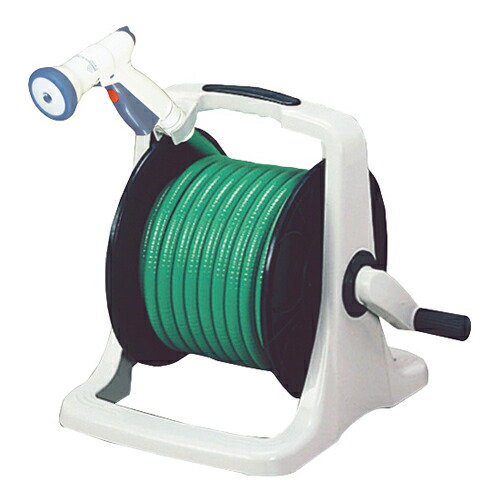 TOYOX・オレンリーEX‐20型・EXR-20S 園芸機器:散水・ホースリール:散水ホースリール(代引き不可) P12Sep14