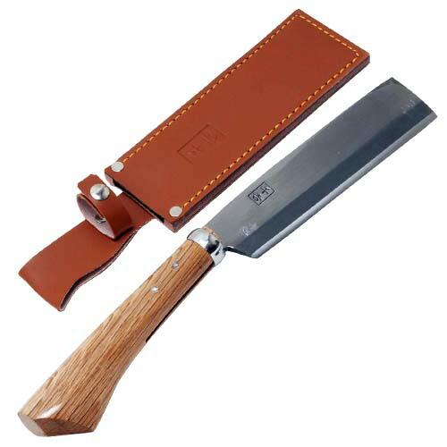 千吉・園芸腰鉈‐両刃‐165mm・SGKN-6 園芸道具:鉈:両刃(代引き不可) P12Sep14