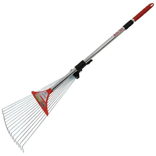 千吉・W伸縮ガーデンクリーナー・SGR-5W 園芸道具:清掃具:クマデ(代引き不可) P12Sep14