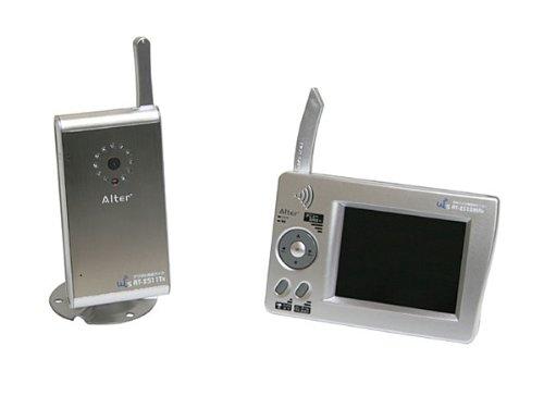 ALTER+ オルタプラス(キャロットシステムズ) デジタル2.4GHz帯無線カメラ&モニター AT-2510MCS 防犯カメラ P12Sep14