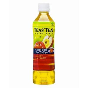 伊藤園 TEAS'TEA GREEN&REDアップルティー 500ml×24本 1ケース 紅茶(代引き不可)  P12Sep14