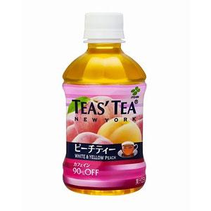 伊藤園 TEAS'TEA ピーチティー 280ml×24本 1ケース 紅茶(代引き不可)  P12Sep14