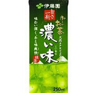 伊藤園 お〜いお茶 濃い味 紙パック 250ml×24本 1ケース おーいお茶(代引き不可)  P12Sep14