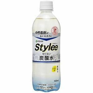 伊藤園 スタイリー 甘くない炭酸水 PET Stylee 500ml×24本(代引き不可) P12Sep14