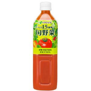 伊藤園 15種類の旬野菜 900g×12本 1ケース 野菜ジュース(代引き不可)  P12Sep14