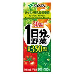 伊藤園 1日分の野菜 紙パック 200ml×24本 1ケース 野菜ジュース(代引き不可)  P12Sep14