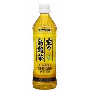 伊藤園 金の烏龍茶 500ml×24本 1ケース ウーロン茶(代引き不可)  P12Sep14