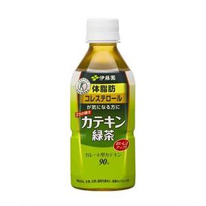 伊藤園 2つの働きカテキン緑茶 350ml×24本 1ケース 緑茶(代引き不可)  P12Sep14