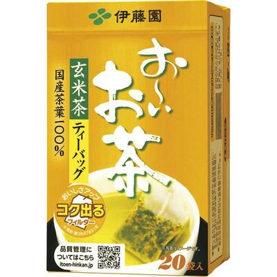 伊藤園 おーいお茶 玄米茶 ティーバッグ 10箱(代引き不可)  P12Sep14