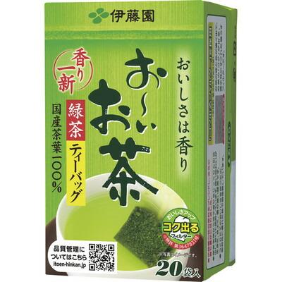 伊藤園 おーいお茶 緑茶 ティーバッグ 10箱(代引き不可)  P12Sep14