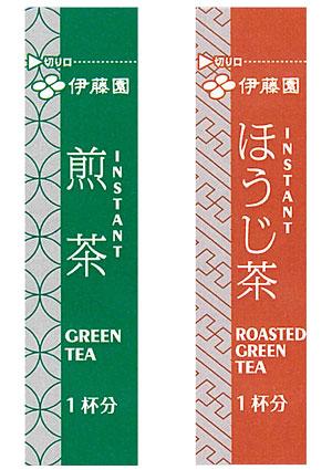 伊藤園 ホテル・レストラン用 インスタントスティック 煎茶 ほうじ茶 100本×10袋 業務用(代引き不可)  P12Sep14