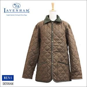 ラベンハム LAVENHAM British Wool Check DENHAM デンハム メンズ ブリティッシュ ウールチェック メンズ コート ジャケット キルティング P12Sep14