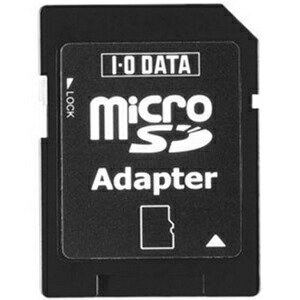 I-O DATA SDMC-ADP microSDカード専用 SDスロットアダプター P12Sep14