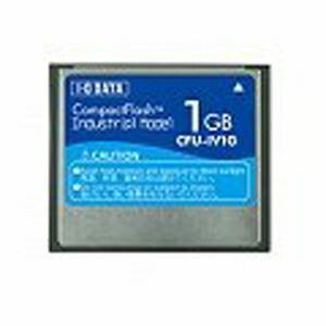 アイ・オー・データ機器 コンパクトフラッシュカード インダストリアル(工業用)モデル 1GB CFU-IV1G P12Sep14