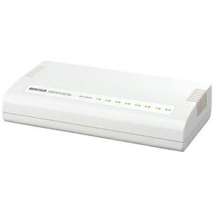 I-O DATA 省電力機能搭載!100BASE-TX/10BASE-T対応 8ポートレイヤー2スイッチングハブ ETX-ESH8W P12Sep14