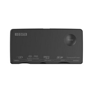 I-O DATA SDXC・SDHCのUHS-I高速転送対応 USB接続マルチカードリーダー・ライター ブラック USB2-W63RW/B P12Sep14