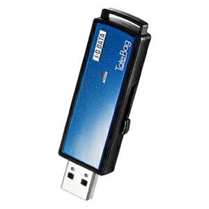 I-O DATA パスワードロック機能付きUSBメモリー ブルー 4GB TB-PW4G/B P12Sep14