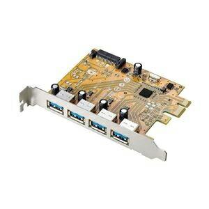 I-O DATA USB3.0対応 PCI Express用インターフェースボード US3-4PEX P12Sep14