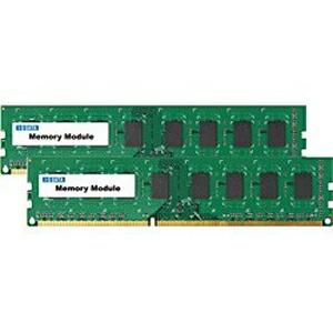 アイ・オー・データ PC3-12800(DDR3-1600)対応デスクトップPC用メモリー DY1600シリーズ (4GB・2枚) DY1600-H4GX2 P12Sep14