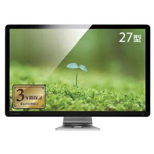 I-O DATA WQHD(2560×1440)対応 AH-IPSパネル採用 27型ディスプレイ LCD-MF272CGBR P12Sep14