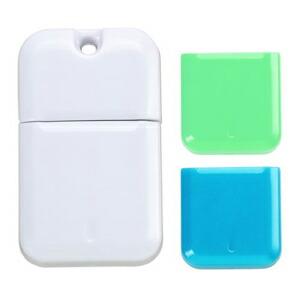 I-O DATA USB 3.0対応USBメモリー コンパクトデザインモデル白 キャップ色グリーン&ブルー 8GB U3-CPSL8G/BG P12Sep14