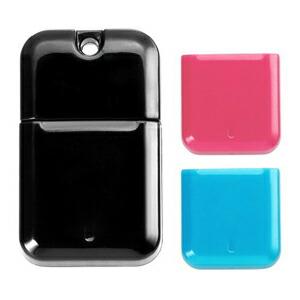 I-O DATA USB 3.0対応USBメモリー コンパクトデザインモデル黒 キャップ色ブルー&ピンク 8GB U3-CPSL8G/BP P12Sep14