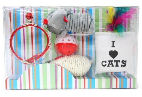 猫ちゃんが喜ぶ6点セット キャットギフトセット P12Sep14