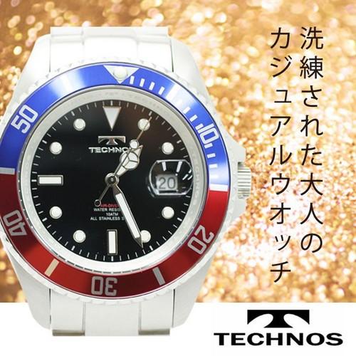 腕時計回転ベゼル T4250(メンズ)T4250SH