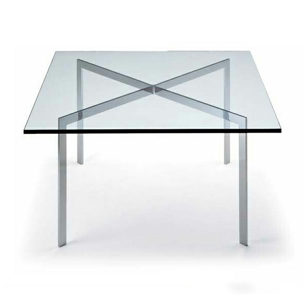 ミース・ファン・デル・ローエ バルセロナテーブル Mies van der Rohe リプロダクト(代引き不可) P12Sep14