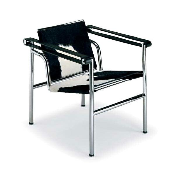 ル・コルビジェ LC1 スリングチェア (ポニースキン) Le Corbusier リプロダクト(代引き不可) P12Sep14