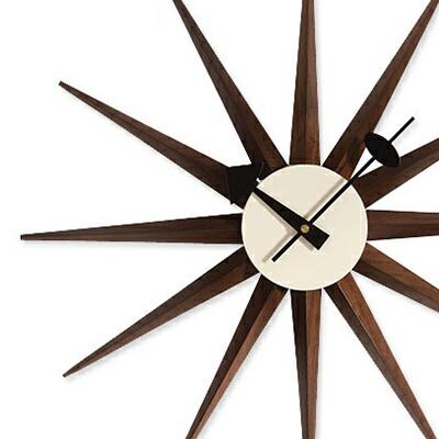 サンバーストクロック ジョージ・ネルソン Sunburst Clock George Nelson 掛け時計(代引き不可) P12Sep14