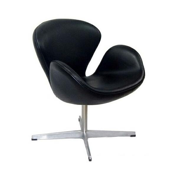 アルネ・ヤコブセン スワンチェア(総本革) Arne Jacobsen Swan Chair リプロダクト(代引き不可) P12Sep14