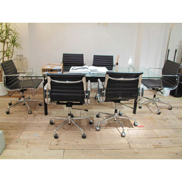デザイナーズ 応接セット LC6 チューブダビオン 225 テーブル ル・コルビジェ & チャールズ&レイ・イームズル Le Corbusier Eames(代引き不可) P12Sep14